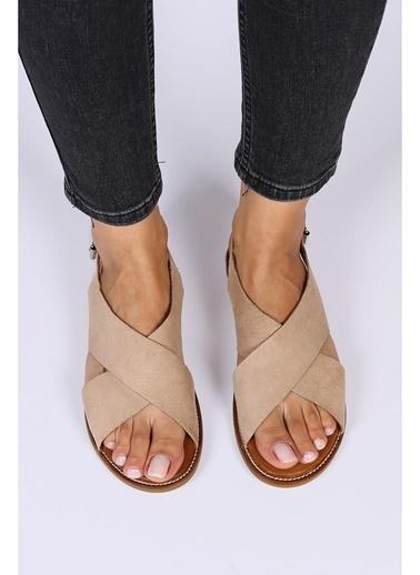 Female Project Outdoor Sandalet Bej